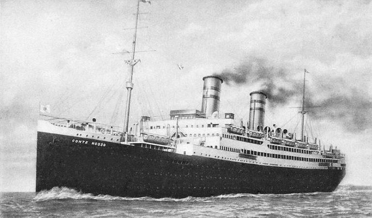 SS Conte Rosso, 1922