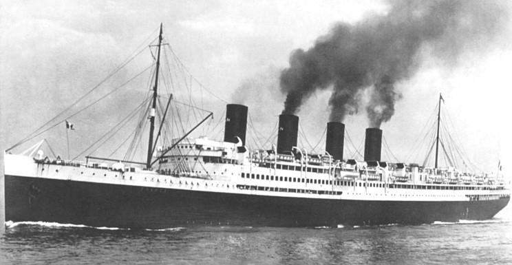 SS La France, 1912