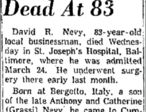 David Nevy Obituary